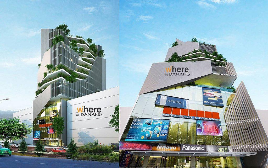 Phim cách nhiệt tại tòa nhà Phi Long, Đà Nẵng