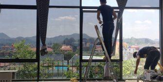 Phim cách nhiệt dán kính chống nắng nóng nhà kính
